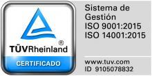 Logotip ISO 9001:2015
